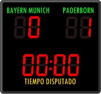 Apuestas de la Bundesliga con hándicap Bayern-Paderborn