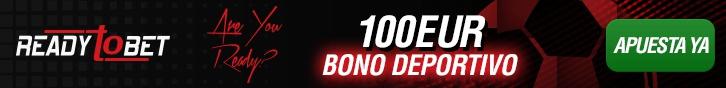 Bono de apuestas deportivas Ready to Bet